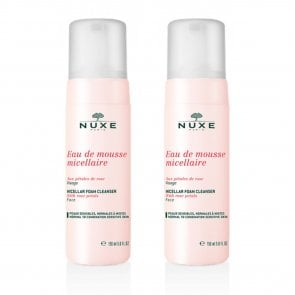 PACK PROMOCIONAL: NUXE Micellar Foaming Cleanser with Rose Petals 150ml x2