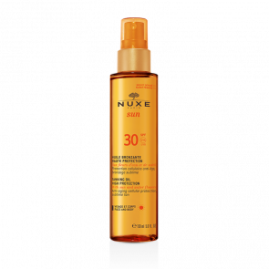 NUXE Sun Tanning Oil High Protection for Face and Body SPF30 150 ml