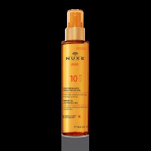 NUXE Sun Óleo Proteção Bronzeado Rosto & Corpo FPS10 150 ml