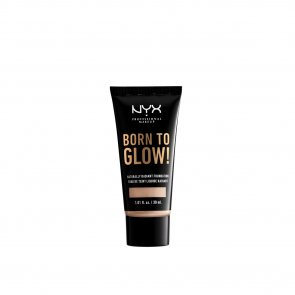 NYX Pro Makeup Born To Glow Radiant Foundation Porcelain 30ml