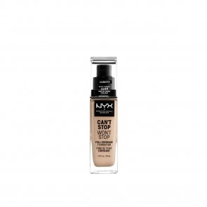 NYX Pro Makeup Can't Stop Won't Stop Foundation Alabaster 30ml