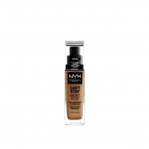 NYX Pro Makeup Can't Stop Won't Stop Foundation Caramel 30ml