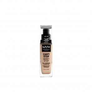 NYX Pro Makeup Can't Stop Won't Stop Foundation Light Ivory 30ml