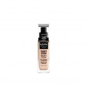 NYX Pro Makeup Can't Stop Won't Stop Foundation Light Porcelain 30ml