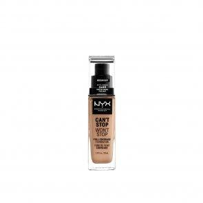 NYX Pro Makeup Can't Stop Won't Stop Foundation Medium Buff 30ml