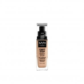 NYX Pro Makeup Can't Stop Won't Stop Foundation Natural 30ml
