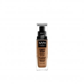 NYX Pro Makeup Can't Stop Won't Stop Foundation Neutral Tan 30ml