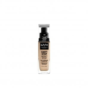 NYX Pro Makeup Can't Stop Won't Stop Foundation Nude 30ml