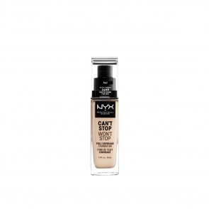 NYX Pro Makeup Can't Stop Won't Stop Foundation Pale 30ml