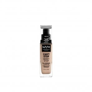 NYX Pro Makeup Can't Stop Won't Stop Foundation Porcelain 30ml
