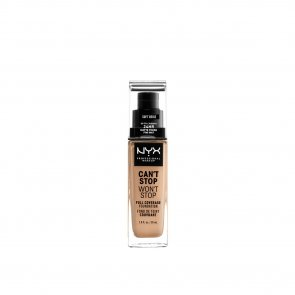 NYX Pro Makeup Can't Stop Won't Stop Foundation Soft Beige 30ml