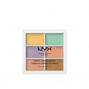 NYX Pro Makeup 3C Color Correcting Concealer Palette
