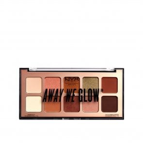 NYX Pro Makeup Away We Glow Palette Hooked On Glow