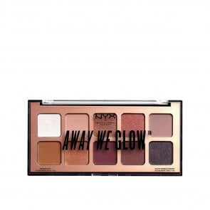 NYX Pro Makeup Away We Glow Palette Lovebeam