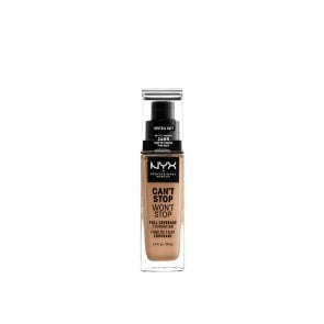 NYX Pro Makeup Can't Stop Won't Stop Foundation Neutral Buff 30ml