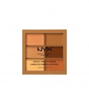 NYX Pro Makeup Conceal, Correct, Contour Palette Deep