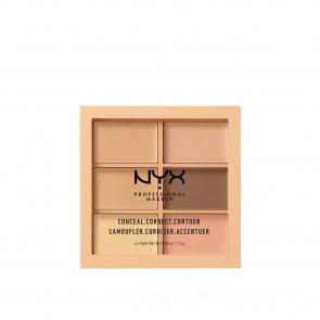 NYX Pro Makeup Conceal, Correct, Contour Palette Light