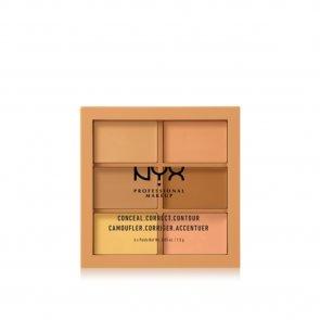 NYX Pro Makeup Conceal, Correct, Contour Palette Medium
