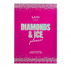 COFFRET: NYX Pro Makeup Diamonds & Ice Please! 24 Day Holiday Calendar