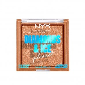 EDIÇÃO LIMITADA: NYX Pro Makeup Diamonds & Ice Please! Illuminator Citrine Dream 7g