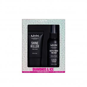 COFFRET: NYX Pro Makeup Diamonds & Ice Please! Prime & Set Duo