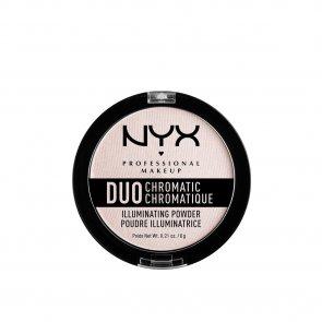 NYX Pro Makeup Duo Chromatic Illuminating Powder Snow Rose 6g