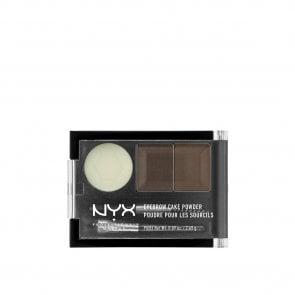 NYX Pro Makeup Eyebrow Cake Powder Dark Brown & Brown 2.65g
