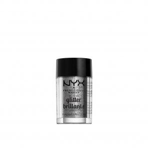 NYX Pro Makeup Face & Body Glitter Silver 2.5g