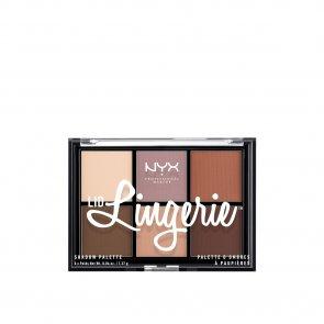 NYX Pro Makeup Lid Lingerie Shadow Palette