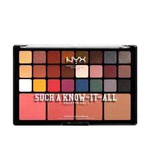 NYX Pro Makeup Such A Know-It-All Shadow Palette Vol.1