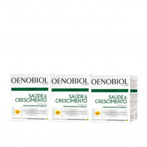PROMOTIONAL PACK: Oenobiol Capillaire Revitalisant Hair Capsules 3x60