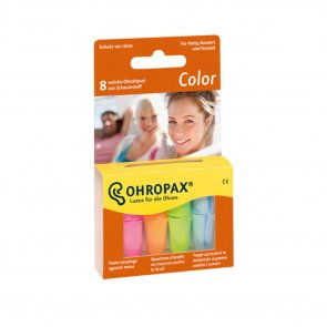 Ohropax Color Plugs 8 Units