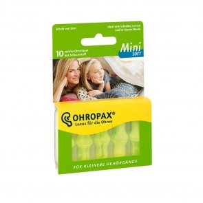 Ohropax Mini Soft Plugs 10 Units