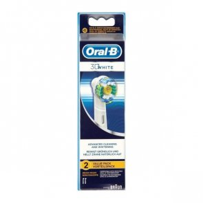 Oral-B 3D White Replacement Head Electric Toothbrush x2