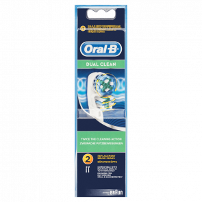 Oral-B Dual Clean Electric Toothbrush Replacement Head