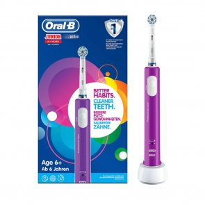 Oral-B Junior 6+ Years Electric Toothbrush Purple