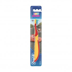 Oral-B Kids 3-5 Years Soft Toothbrush Cars