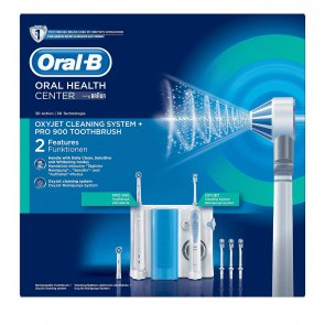 PROMOTIONAL PACK: Oral-B Oxyjet Cleaning System + Pro 900 Electric Toothbrush