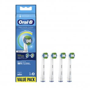 Oral-B Precision Clean Replacement Head Electric Toothbrush x4
