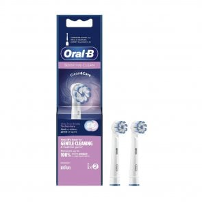 Oral-B Sensitive Clean Replacement Head Electric Toothbrush x2