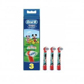 Oral-B Stages Electric Toothbrush Replacement Head Mickey x3