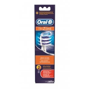 Oral-B TriZone Replacement Head Electric Toothbrush x2