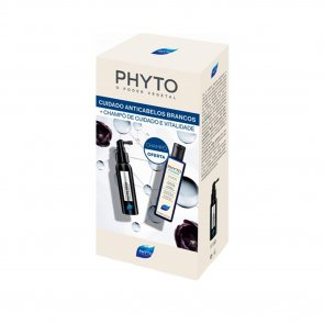 PROMOTIONAL PACK: Phyto RE30 Anti White Hair Treatment 50ml + Phytophanere Shampoo 250ml