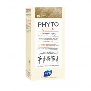 Phytocolor Permanent Color Shade 10 Extra Light Blonde