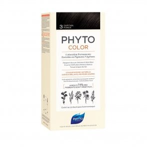 Phytocolor Permanent Color Shade 3 Dark Brown