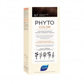 Phytocolor Permanent Color Shade 5.7 Light Chestnut Brown