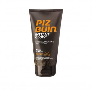 Piz Buin Instant Glow Skin Illuminating Sun Lotion SPF15 150ml