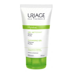Uriage Hyséac Gentle Cleansing Gel Combination to oily Skin 150ml
