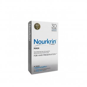 DESCONTO: Nourkrin Man Hair Preservation Tablets x60