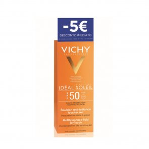 DISCOUNT: Vichy Idéal Soleil Mattifying Face Fluid Dry Touch SPF50 50ml